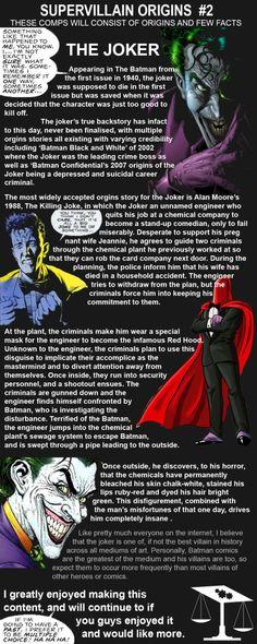 Supervillain Origins – The Joker