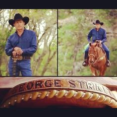 George Strait, the King of Country. Absolutely love him!
