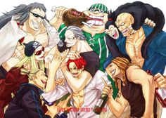 51 Best Red Haired Pirates Images One Piece Anime Pirates