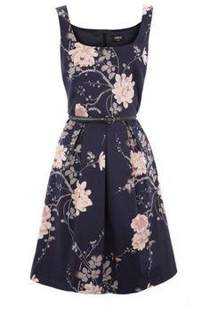 Oasis Autumn flower print dress