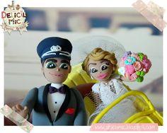 Deliciu Mic - Figurine de tort nunta mire si mireasa Bijuterii Handmade si Accesorii Handmade: CUTE - Figurine de tort pentru nunta - Mire s... Disney Characters, Fictional Characters, Disney Princess, Art, Art Background, Kunst, Performing Arts, Fantasy Characters, Disney Princesses