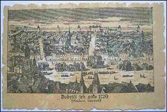Praha, Karlovo náměstí   (Dobytčí trh, 1720) History Photos, Czech Republic, Vintage World Maps, Travel, Historia, Viajes, Historical Pictures, Destinations, Traveling