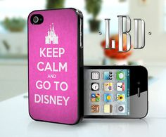 Keep Calm and Go To Disney Pink - iPhone 4 4s Case iP4