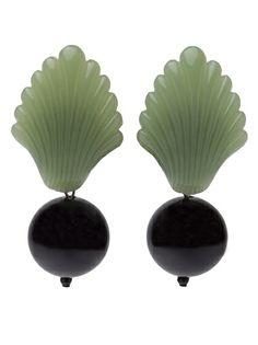 ANGELA CAPUTI VINTAGE Dangling 'Deco' Earrings