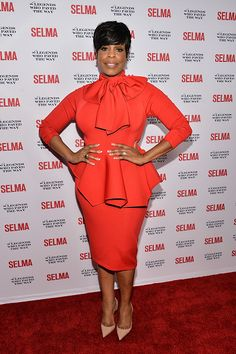 "Niecy Nash attends the ""Selma"" and The Legends Who Paved The Way Gala. Church Attire, Church Dresses, Church Outfits, Cute Fashion, Modest Fashion, Fashion Dresses, Classy Outfits, Cute Outfits, Church Fashion"