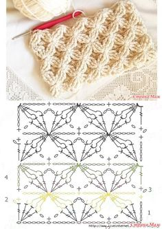 40 free crochet stitches from daisy farm crafts salvabrani – Artofit Gilet Crochet, Crochet Cable, Crochet Motifs, Crochet Diagram, Crochet Stitches Patterns, Crochet Chart, Crochet Designs, Knitting Patterns, Easy Crochet