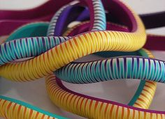 More Zipper Bangles, Claire Wallis