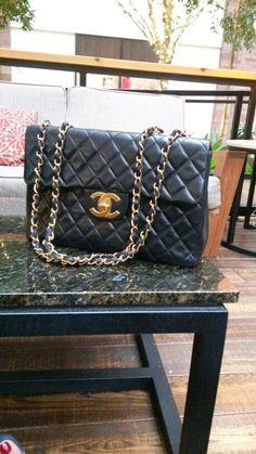 4a4a7987b82946 32 Best Vintage Chanel jumbo maxi handbag images | Chanel jumbo ...