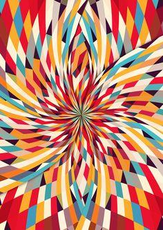 In Flower by Danny Ivan, via Behance