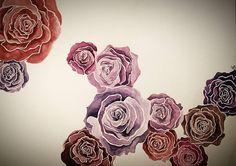 #watercolor #roses🌹 #aquarelle #art #rosepainting #artwork #drawings #illustrationart #rosen #aquarellart