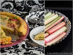 Kochen mit Diana/ Cooking with Diana: Rhabarber-Zitronen-Thymian Tarte/ Rhubarb-lemon-thyme tart