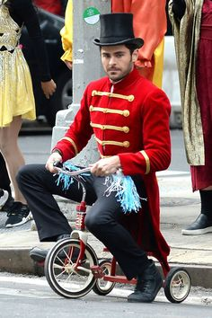 Zac Efron in James cordon's  crosswalk musical