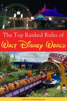 In this post, I set out to rank all the rides at Walt Disney World! Sound off in the comments with your favorite Disney World rides! Walt Disney World Rides, Disney World Vacation, Disney Cruise Line, Disney Vacations, Disney Parks, Disney Travel, Disney World Secrets, Disney World Planning, Disney World Tips And Tricks