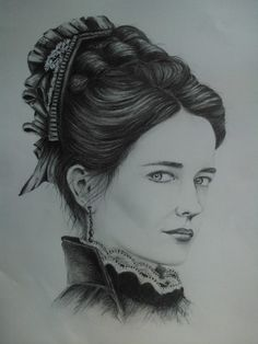 Eva Green as Vanessa Ives, Penny Dreadful by pollyUK.deviantart.com on @DeviantArt