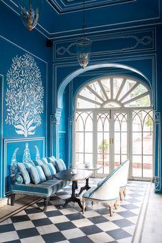 Interior Love: Bar Palladio in Jaipur Palace Interior, Interior Exterior, City Palace Jaipur, Small Bathroom Renovations, Bathroom Remodeling, Bathroom Designs, Indian Interiors, Indian Architecture, Australian Architecture