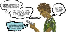 RABISCOS ENQUADRADOS: QUADRINHO CASUAL DO DIA A DIA