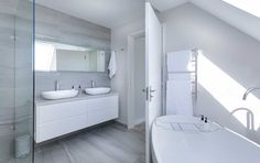 Are you planning for small bathroom renovation in Newcastle but didn't have optimum budget? Checkout how an expert bathroom builder in Newcastle can plan your bathroom renovation within your budget. White Bathroom Interior, Modern White Bathroom, Contemporary Bathrooms, Bathroom Renovation Cost, Bathroom Remodeling, Remodeling Ideas, Steam Showers Bathroom, Bathroom Bath, Bathroom Mirrors