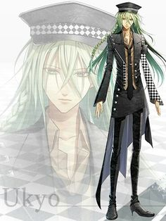 Amnesia anime, he was my favorite character for heroine so sad though... But in the end I am sure she chooses him.