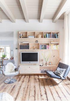 Tendance déco: le contreplaqué - plywood - meuble Tv