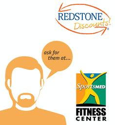 Save on getting fit at Sports Med Fitness Center in Huntsville, AL! Use your Redstone Debit or Credit Card and ask for the Redstone Discount to save on your membership! Click to see details.