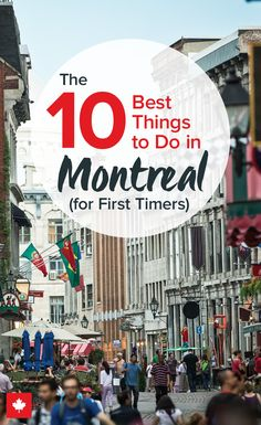 From centuries-old landmarks to festivals featuring the biggest bands in the world today, Montreal is both a modern and classic city that's everything except boring. Vacation Places, Vacation Destinations, Vacation Spots, Vacation Trips, Places To Travel, Places To Visit, Family Vacations, Montreal Attractions, Family Travel