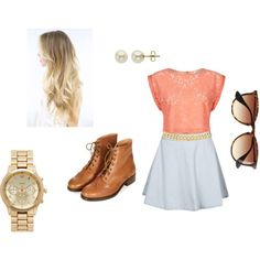 """Preppy Hipster"" by katielarsen on Polyvore"