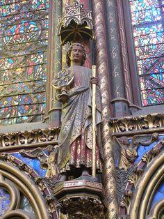 Chapelle haute - statue