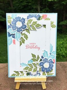 Everything is Rosy – Teresa& Stampin& Spot everything'srosie Homemade Birthday Cards, Homemade Cards, Everything's Rosie, Hand Stamped Cards, Making Greeting Cards, Stamping Up Cards, Mothers Day Cards, Scrapbook Cards, Scrapbooking