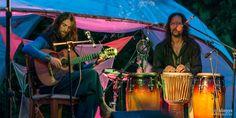 "2015 Estas Tonne and Pepe Danza @ ""Gara Vasara Festival"", Latvia. Photo by Geri Dagys. #estastonne #pepedanza #festival #performance #guitar #music #gypsy #flamenco #latin #garavasara #goa #meditation #atmospheric"