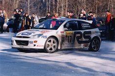 2001 MONTE CARLO RALLY - Ford Focus RS WRC'01 )(V5FMC). Entrant: Ford Motor Co. Drivers: Francois Delecour (F) / Daniel Grataloup (F). Place; 3RD O/A.