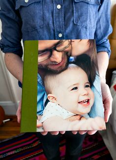 Pinhole Press has a brilliant new baby photo product: Big Book of Names & Faces. You make one with photos of your child's favorite people.