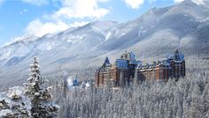 A 125 Year Old Banff Spring Hotel in Canada - found from reddit