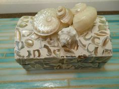 seashell jewelry | Beach Decor Seashell Jewelry Box Shell Box Mother ... | jewelry to …