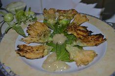 Flori de dovlecel patisson pane (Curcubita pepo patissoniana) Meat, Chicken, Cubs