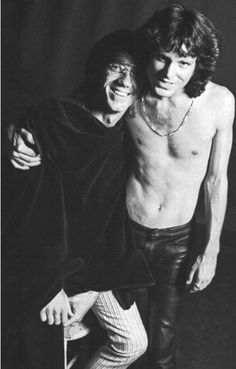 The Doors: Ray Manzarek and Jim Morrison