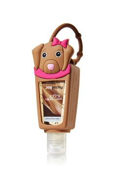 Brown Dog PocketBac® Holder - Bath & Body Works - Bath & Body Works Perfect for straping onto backpacks so kids always have hand sanitizer while @ school. Have them pick their fav. scent and design. Bath N Body Works, Body Wash, Bath And Body, Scented Hand Sanitizer, Hand Sanitizer Holder, Perfume, Alcohol En Gel, Kids Makeup, Diy Gifts For Friends