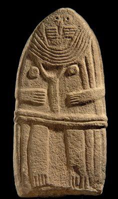Menhir standing stone called Dame de Saint-Sernin, Chalcolithic