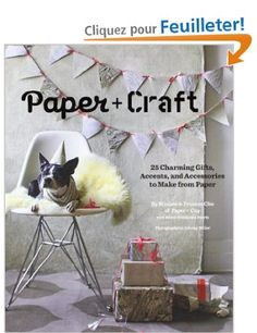 Paper + Craft: 25 Charming Gifts, Accents, and Accessories to Make from Paper: Amazon.fr: Minhee Cho, Randi Brookman Harris, Johnny Miller: Livres anglais et étrangers