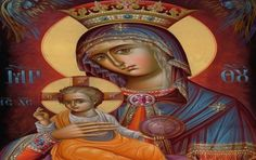 Vintage image of Mary holding baby Jesus in her arms. Size: inch (sheet of Gender: unisex. Catholic Art, Religious Art, Byzantine Icons, Byzantine Art, Kingdom Of Heaven, Custom Stickers, Madonna, Art For Kids, Mona Lisa