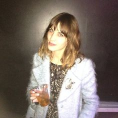 Candy floss coat