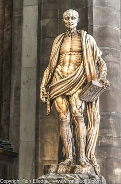 St. Bartholomew, by Marco D'Agrate Artistic Photography by Ron Elledge