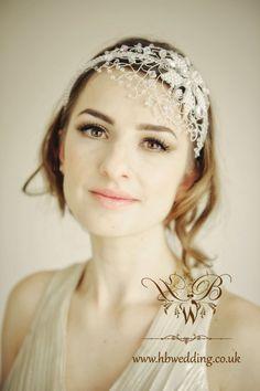Bridal headband VENEZIA