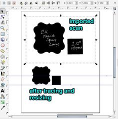 I have gotten several requests for a tutorial on making the digital stamps/printables that match the punches. The problem is I use a mix of oddball software for these and it isn't a very stra… Silhouette Cameo Tutorials, Silhouette Cameo Machine, Silhouette Projects, Silhouette Vinyl, Digital Stamps, Digital Scrapbooking, Craft Paper Punches, Make Your Own, Make It Yourself
