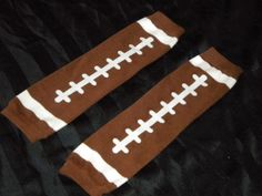 football leg warmers...:) I must have these.