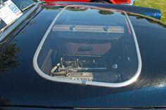 1954 Ford Crestline Skyliner. Ford created 200 dealer installed plexiglas hood kits, acording to Hemmings Classic Car magazine