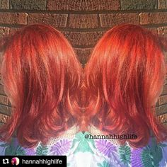 www.foxdensalon.com - #Repost Hannah Alf  Crazy about those reds. [#hannahhaircuts #foxdensalon #red #redhair #paulmitchellcolor #unitehair #btconeshot_color16 #joicointensity #612haircrew #minneapolis #summer #sun #btconeshot_haircolor16 #vivids #joico #hairstylist #1000orbust #foxdensalon #minneapolis #hairstylist #dyedgirls #dyeddollies #pinterest #hair #haircolor #longhairdontcare #professionalstylist #fiidnt #wickedfiidnt]