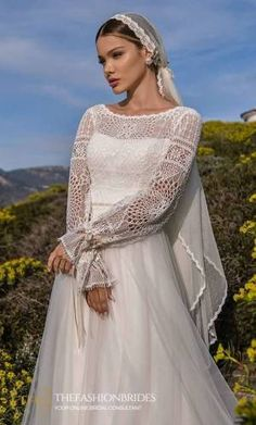Supernova Luxury 2021 Spring Bridal Collection – The FashionBrides Gowns With Sleeves, Bridal Collection, Wedding Gowns, Cover Up, Luxury, Spring, Long Sleeve, Fashion, Dresses With Sleeves