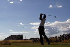 Tiger Woods participa en la primera ronda del Abierto de Golf británico en Muirfield, Escocia. (AP)