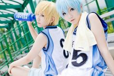 Tsk, tsk! Cosplayers have such perfect skin, it makes me jealous! -_- One day, I will marry a cosplayer who's good at basketball, and make him cosplay for me! >:D