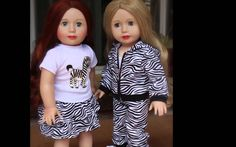 American Girl Fashion Frenzy at www.harmonyclubdolls.com